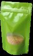 Standbodenbeutel grün