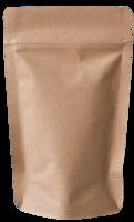 Standbodenbeutel und Doypack Kraft-Papier braun direkt ab Lager kaufen