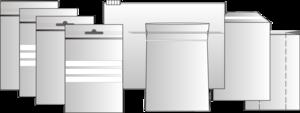 Druckverschlussbeutel, Polybeutel, Dentalbeutel, Sicherheitsversandtaschen, Standbodenbeutel, Einlagenbeutel, Vakuumbeutel und viele weitere Verapackungen