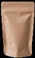 Standbodenbeutel und Doypacks aus braunem Kraftpapier Lagersortiment von MuHeSa
