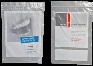 Dentalbeutel bedruckt