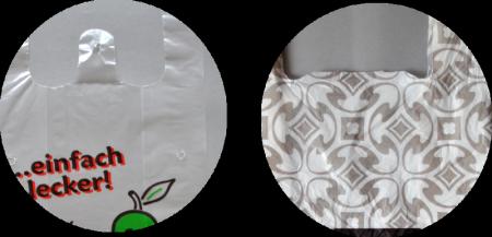 Hemdchentragetaschen bedrucken im Flexodruck