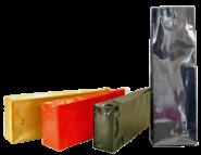 Teeverpackung, Blockbodenbeutel farbig