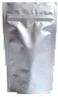 Standbodenbeutel aluminium silber farbig