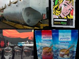 MuHeSa Verpackungsmittel bittet alles von der Palettenhauben über Druckverschlussbeutel bis zum Standbodenbeutel